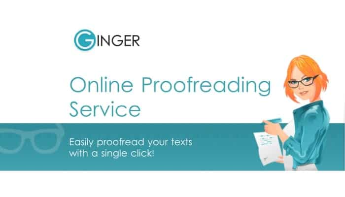 Ginger - Free Online Proofreading Tool