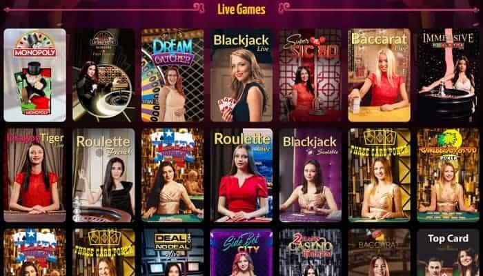 Winota.com Live Dealer
