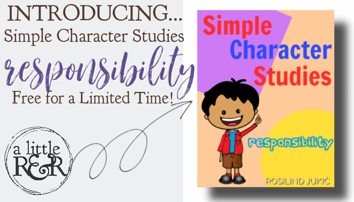 Introducing... Simple Character Studies - Responsibility Limited Time Freebie!