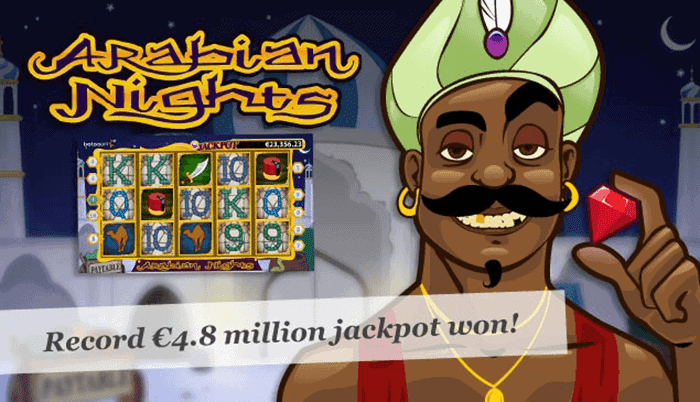 Arabian Nights Jackpot Winner