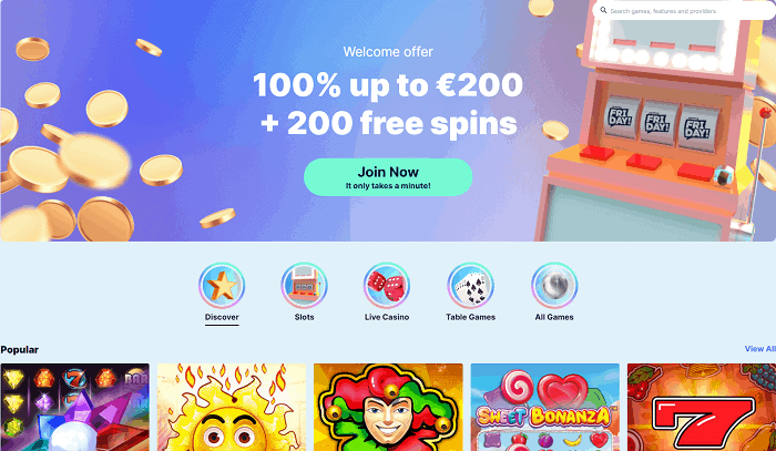Sign up and get free spins today