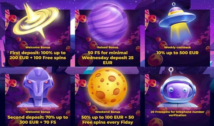 20 exclusive free spins