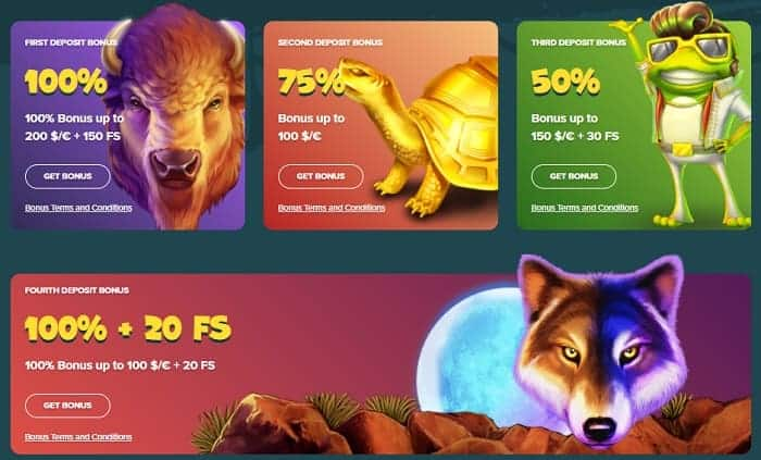 Welcome Bonus and Free Spins Code