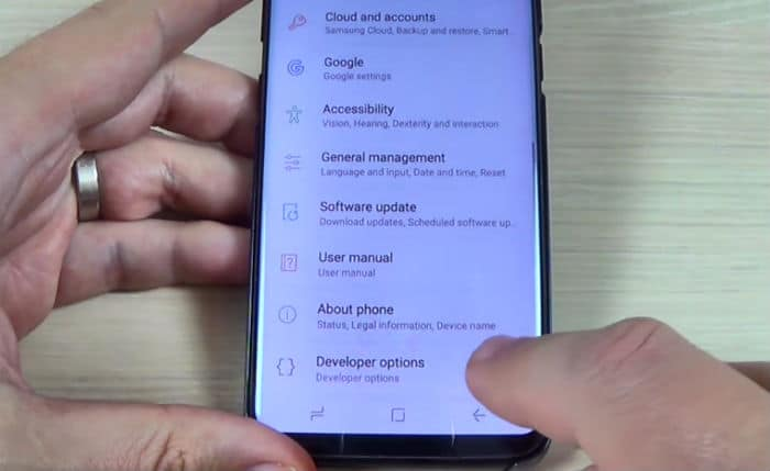 How to enable Developer Options in your Samsung Galaxy S8