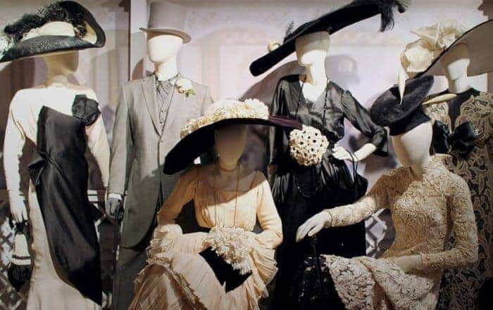 Classic costumes at the warner brothers studios