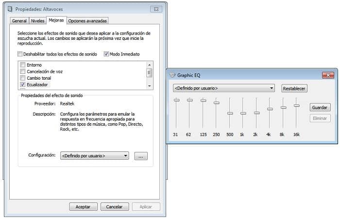 Ecualización de sonido Woxter DL-410