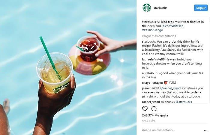 30 Ejemplos de Inbound Marketing-Starbucks