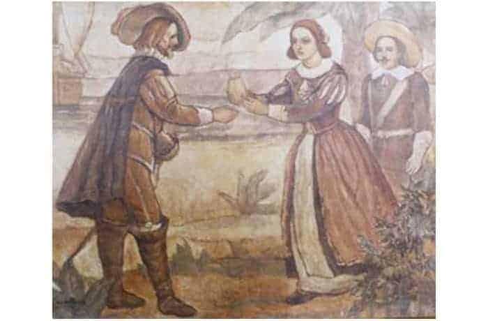 Painting of Francisco de Melo Palheta