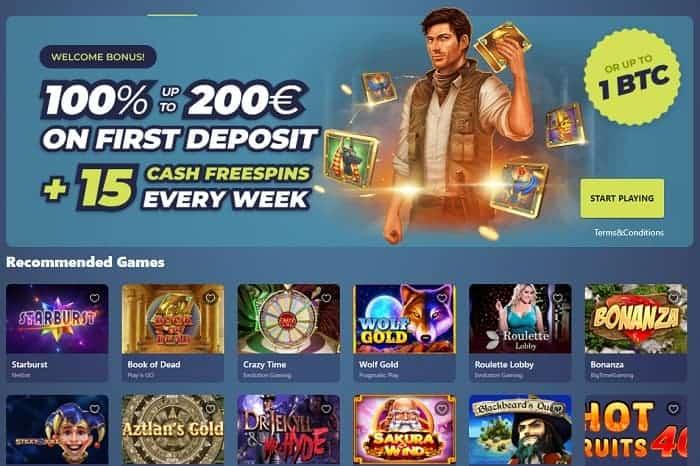 100% free bonus and 60 gratis spins