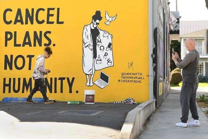 Corie Mattie - Hope Dealer Street Art - Los Angeles