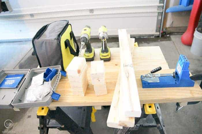 supplies to build floating shelves