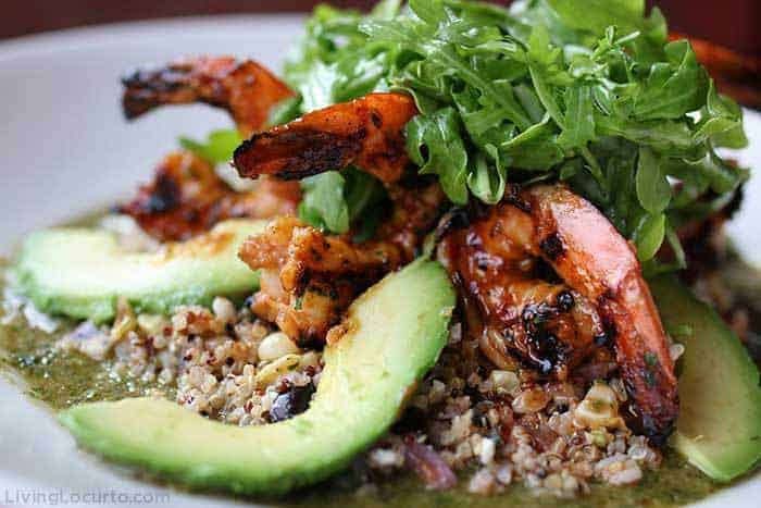 The Cheesecake Factory Chipotle Grilled Shrimp Salad