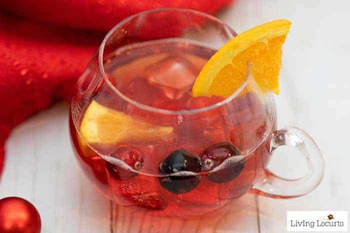 A Holiday Punch Recipe that is perfect for Christmas or a New Year's Eve Party!