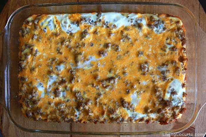 Sausage Egg Breakfast Casserole family recipe - Step 6