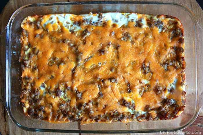 Sausage Egg Breakfast Casserole family recipe - Step 8
