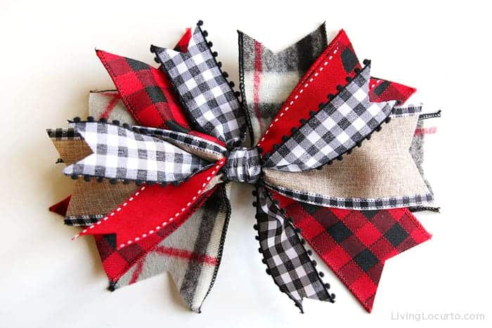 How to make a bow with ribbon. Messy Bow Craft Tutorial