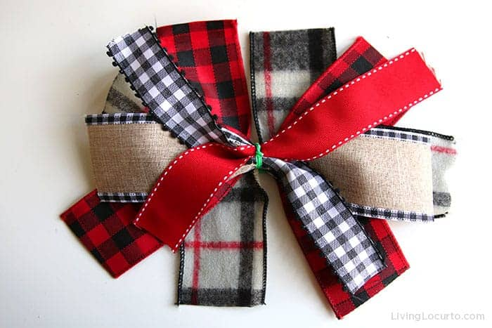 How to tie a ribbon bow