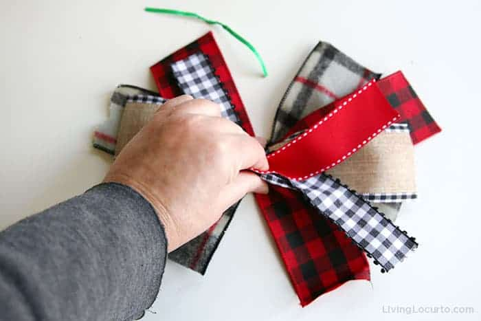 Messy Bow Craft Directions