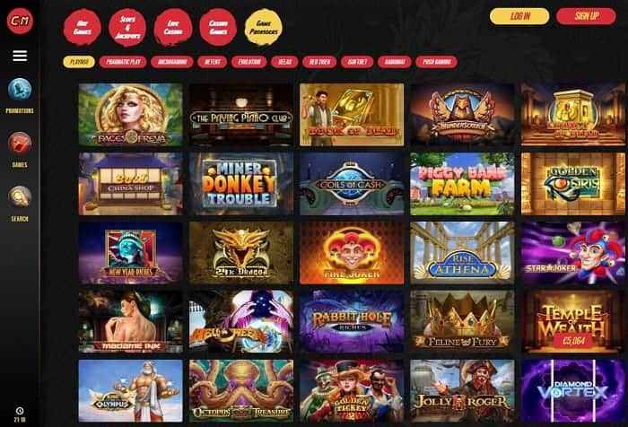 Casino Masters Full Review and Rating