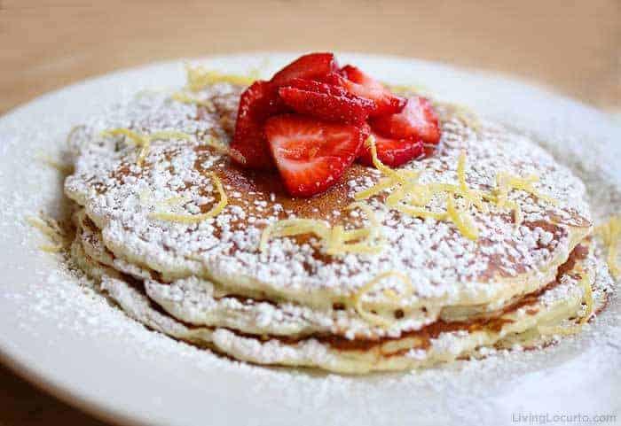 The Cheesecake Factory Lemon-Ricotta Pancakes