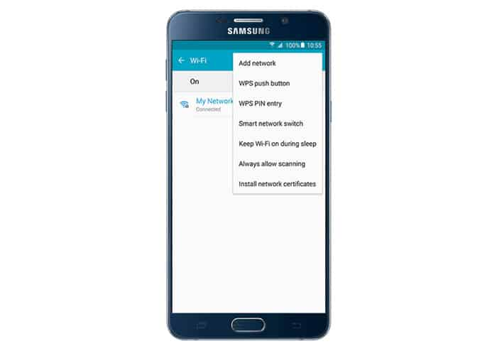 Samsung Galaxy Note 5 can't get past the setup page after