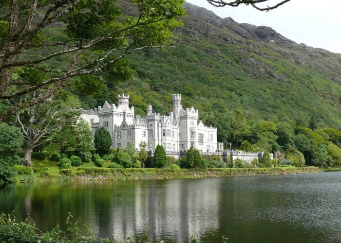 Irish castle Kylemore Castle Co. Galway