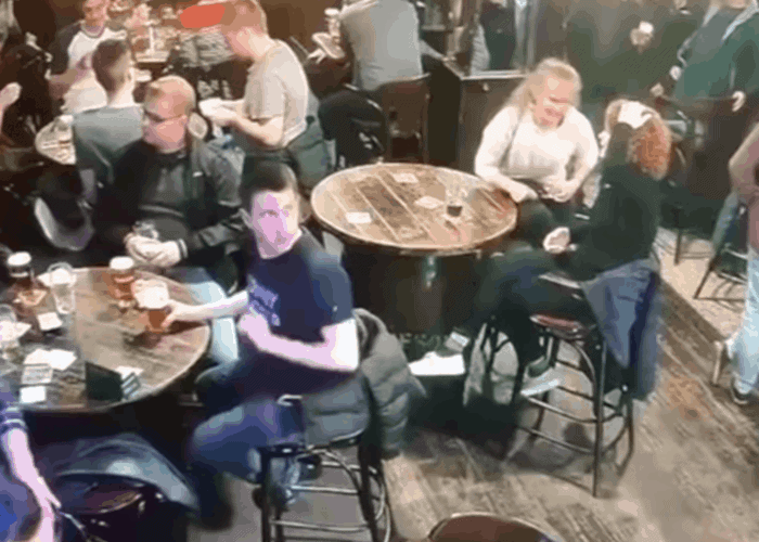 - (2) Irish Barman Spills Two Trays of Beer in a Row During Shift