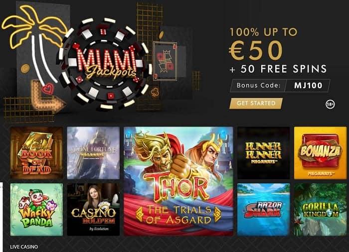 Get 50 EUR free bonus!