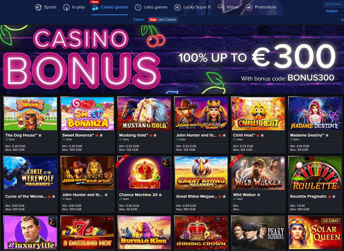 Mozzart Casino Full Review Screen