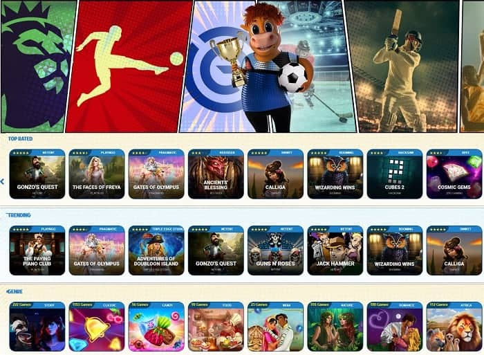 Play the best sports and online games!