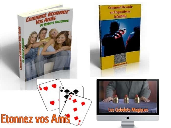 Comment étonner vos amis, devenez hypnotiseur et apprenez des tours de magie faciles