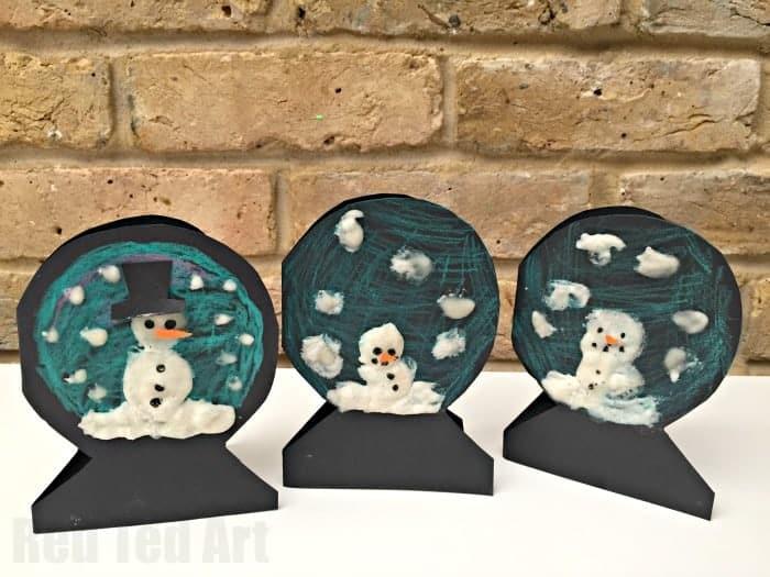 snow man cards