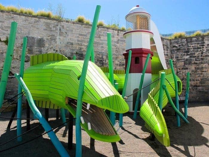 Bermuda national museum playground
