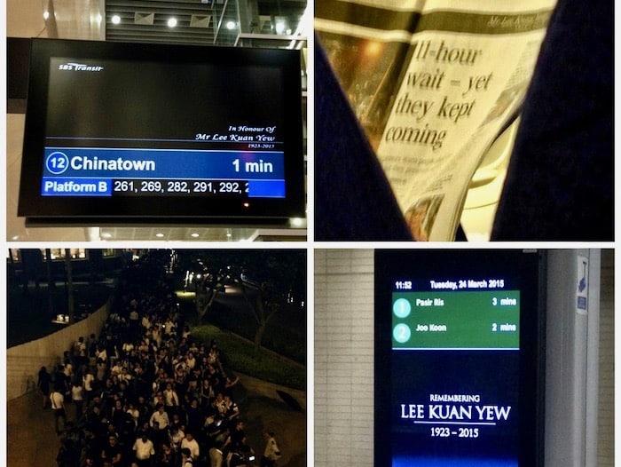Singapur: Ein Land trauert um seinen Gründer Lee Kuan Yew
