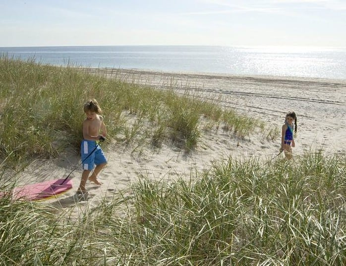 The hamptons have great beaches to explore yearround; they can be even better in the off-seaons.