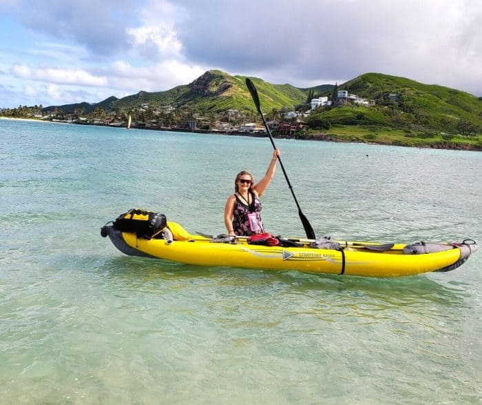 Kayaking Kailua Flat Island