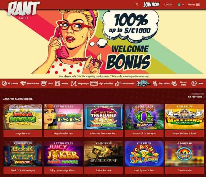 Rant Free Spins