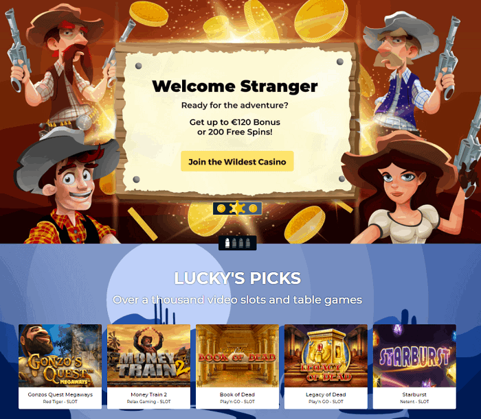 Lucky Luke Online Casino Review