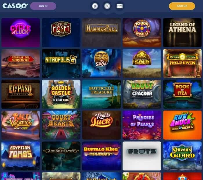 All free spins games