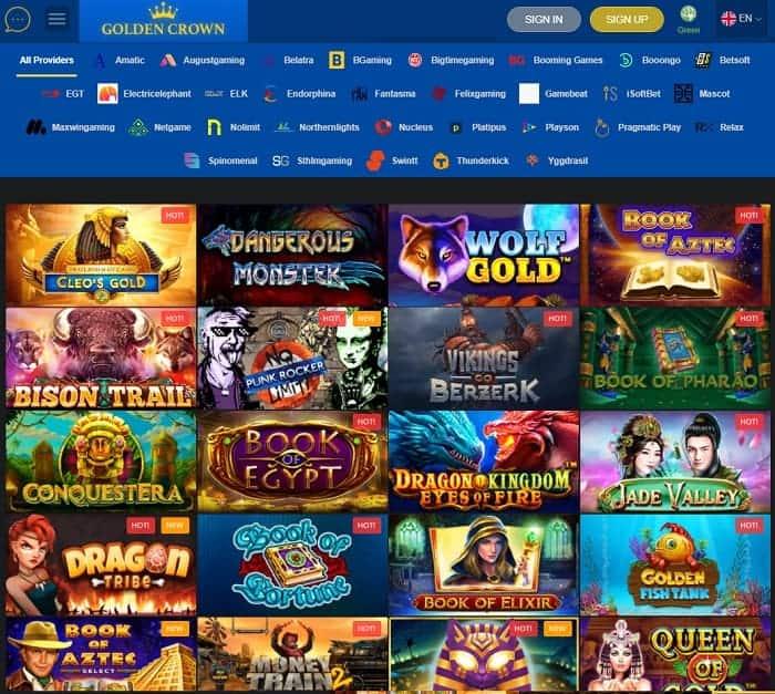 Golden Crown Crypto Games