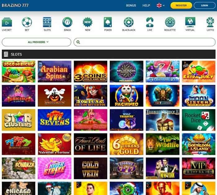 Brazino Casino Review