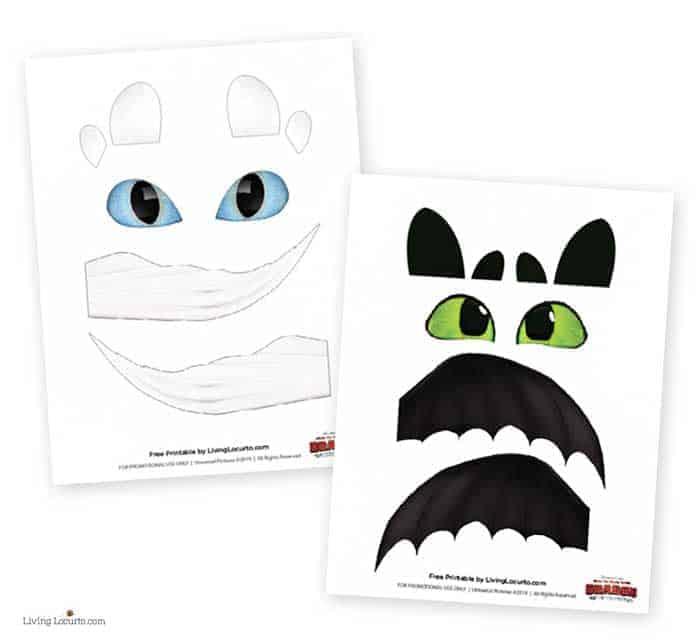 How To Train Your Dragon Cake birthday cake free printables. LivingLocurto.com