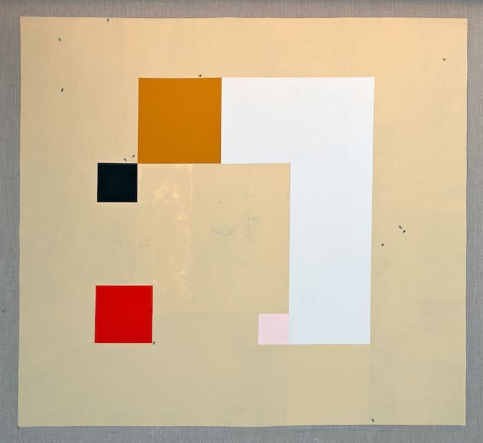Ruba Salameh, Malaga (2020), acrylic on linen, 119 x 129 cm