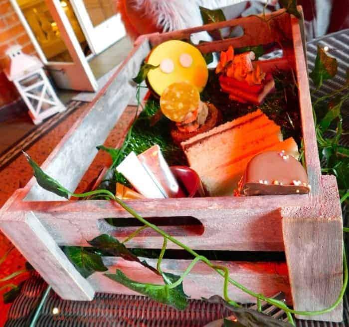 The children's garden tea at st. Ermine's hotel