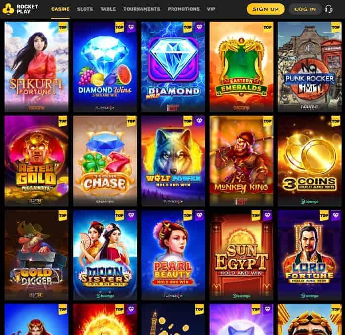 Rocket Casino Free Bonus