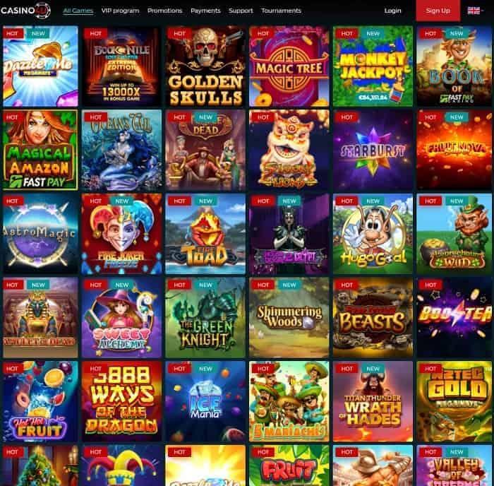 Play slots and free games!