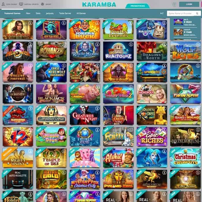 Karamba Casino Snapshot Review