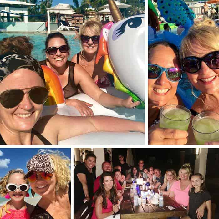 Social Media on the Sand event for Beaches Moms. Learn all about Beaches Resorts in Turks & Caicos to plan your next family trip! All-Inclusive Caribbean vacation travel review by Amy Locurto Food and Travel Blogger.
