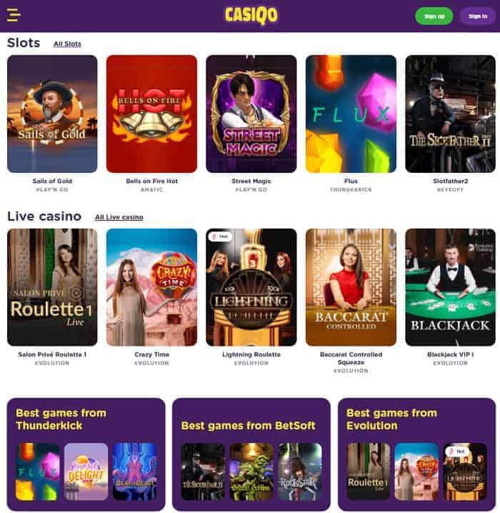 Casiqo Casino Full Review