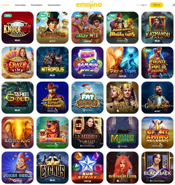 Emojino Casino Review & Rating